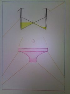 Dibujo para la portada - Aroma de mujer